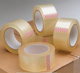 Opp Packing Tape (Brown/Clear)