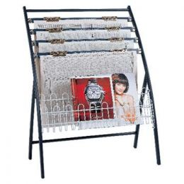 Newspaper & Magazine Rack